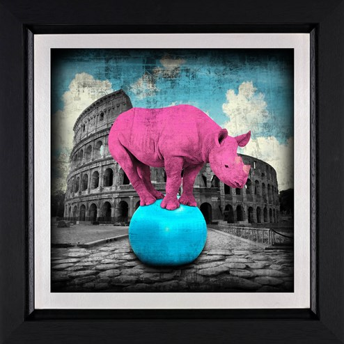 The Main Attraction by Lars Tunebo - Framed Paper On Board